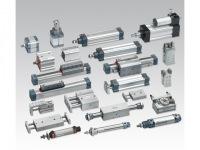 Блок подготовки воздуха, пневмораспределитель, пневмоцилиндр, датчик положения, пневмоклапан, регулятор давления...
