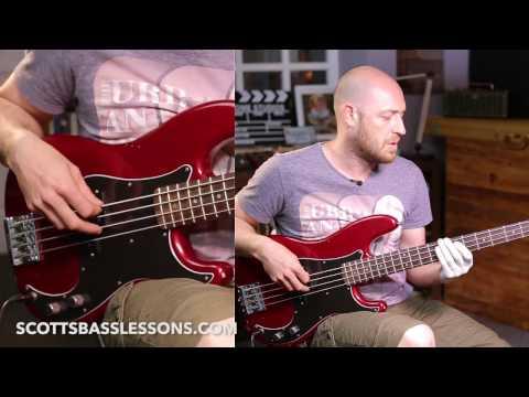 Pino Palladino Style Bass Riff (with a few twists of my own!) - Quick Riff Scott's Bass Lessons