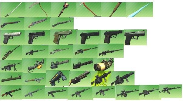 все оружия в контра сити фото