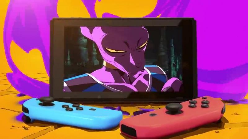 Анонсовый трейлер игры Dragon Ball FighterZ для Nintendo Switch на E3 2018!