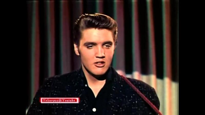Elvis Presley Blue Suede Shoes 1956 COLOR and STEREO