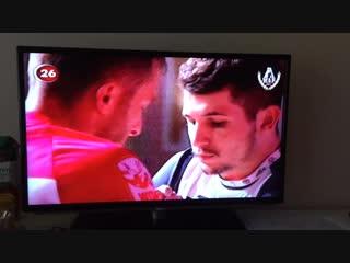Армрестлинг на центральном телеканале в Турции (Kanal 26)