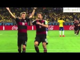 Бразилия - Германия / Brazil - Germany / 1-7 Все Голы All goals ЧМ 2014
