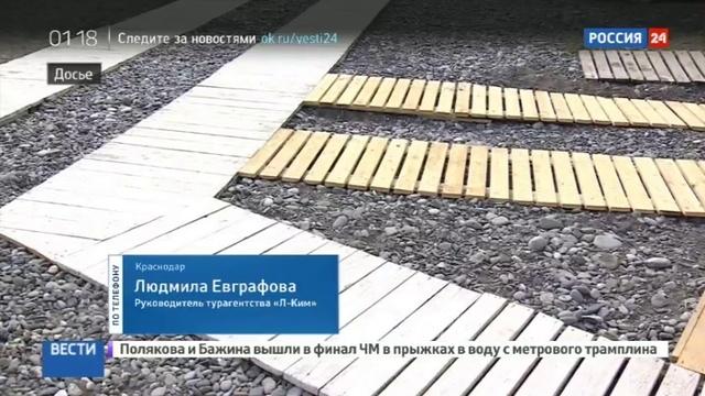 Новости на Россия 24 • Курортный сбор человек должен понимать, за что он платит