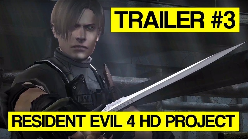 Trailer 3 - Resident Evil 4 HD Project