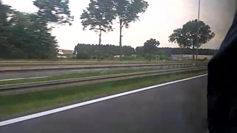 Дорога от Белостока до Варшавы
