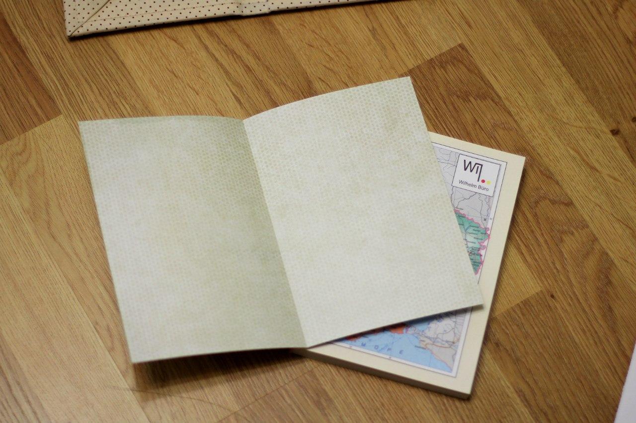 Как сделать из бумаги блокнот без сшивания и клея