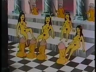 Секс мультики одисей и королева порноса