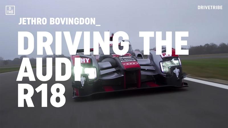 Driving Audi's 1000bhp R18 LMP1 race car