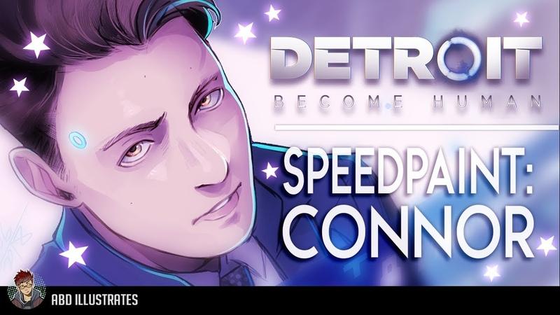 Detroit: Become Human SPEEDPAINT - Connor