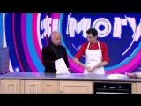 Леонид Якубович учится готовить пиццу по-итальянски на шоу «Я могу»