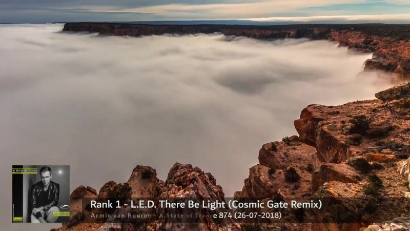 Rank 1 - L.E.D. There Be Light (Cosmic Gate Remix) ASOT874
