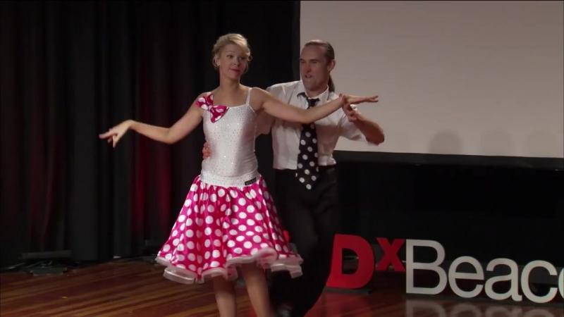 Amputee's dancing dream Adrianne Haslet Davis Artsiom Chapialiou TEDxBeaconStreet