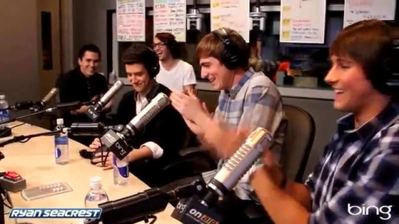 Big Time Rush Boyfriend Acoustic Performance On Air With Ryan Seacrest