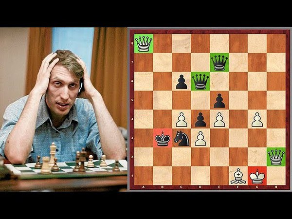 Fischer vs Petrosian: The Famous Game Of Four Queens