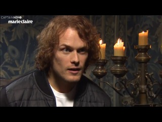 Outlander cast plays feminist 'Would you rather...' RUS SUB