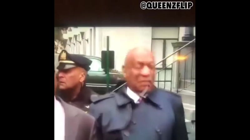 Man loses it watching Bill Cosby 'bug out' after leaving court