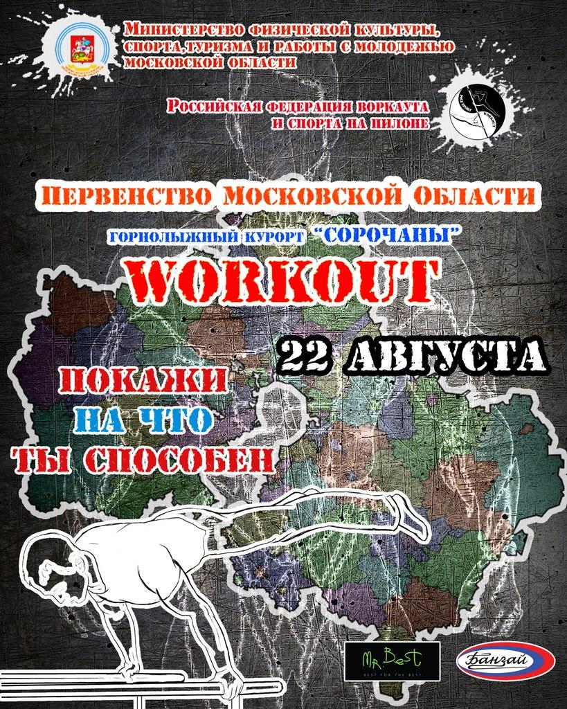 Первенство московской области по Воркауту