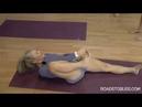 Supta Padangusthasana to Anantasana with Carrie Owerko Senior Intermediate Iyengar Yoga Teacher