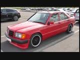 BRABUS 190E Mercedes W201 3.6S авто обзор ЛЕГЕНДЫ