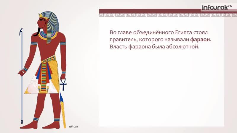 Возникновение государства в Древнем Египте - Всемирная история 5 класс 4 - Инфоурок