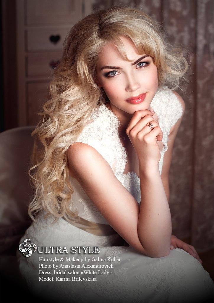 Визажист, модель Карина Брилевская