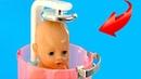 Беби Бон Миша Не хочет Мыться Играем в Куклы Пупсики Как Мама Игрушки для девочек