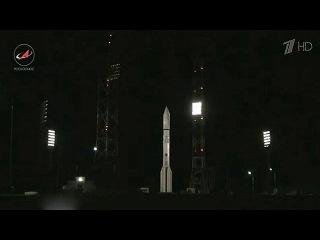 Запуск космического аппарата связи с помощью ракеты-носителя `Протон-М` завершился неудачей - Первый канал