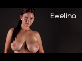 Nude Art Models: naked Ewelina, SedCard-Shooting