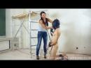 Русская госпожа страпонит раба - Femdom Sessions /Russian Mistress / фемдом /  foot fetish / страпон / унижение