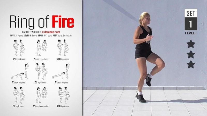 The Ring of Fire Workout [ FULL ] [ HIGH BURN ] [ 20 MIN ]
