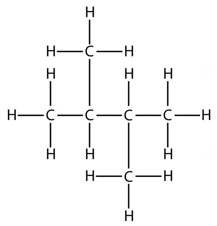 строение молекулы 2,3 они диизопропил
