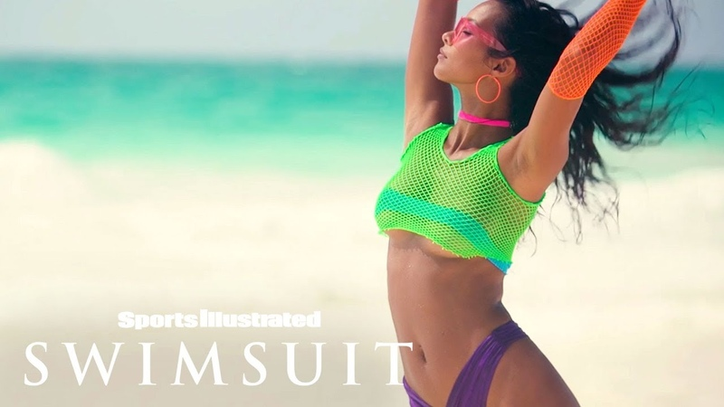 Lais Ribeiro Makes Coachella Proud In These Outrageous Swimsuits | Sports Illustrated Swimsuit