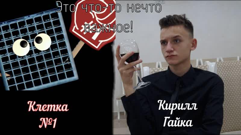 Озвучка персонажей Клетка №1 и Мангл - Кирилл Гайка