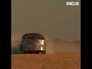 Apocalyptic vw bus