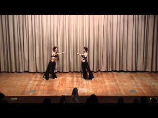 Alla Kluchenkova & Galina Shabetnikova (oriental dance studio Roksolana)