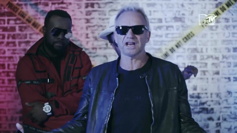 STING AND SHAGGY WITH MAITRE SIMS - Gonna Get Back My Baby (MTV NEO)
