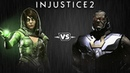 Injustice 2 - Чаровница против Дарксайда - Intros Clashes (rus)
