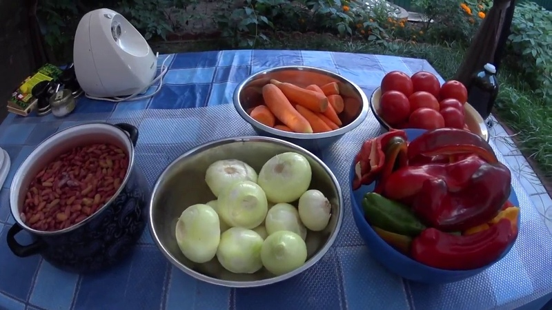 ФАСОЛЬ С ОВОЩАМИ в томатном соусе (вкуснее чем фасоль Хайнц).