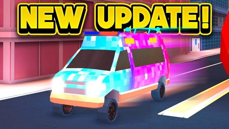 NEW FASTER AMBULANCE MORE! (ROBLOX Jailbreak)