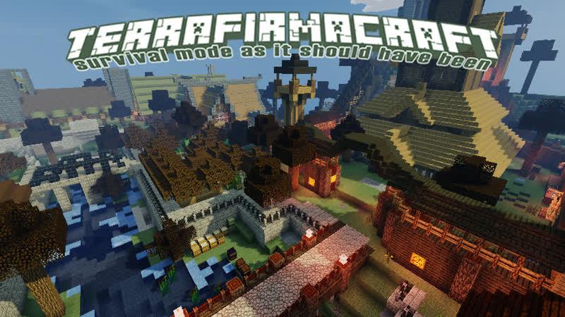 Minecraft. TFC. Розыгрыш в ВК!