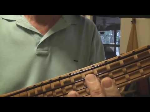 David Beede demos his Bass Stick acu-fretless