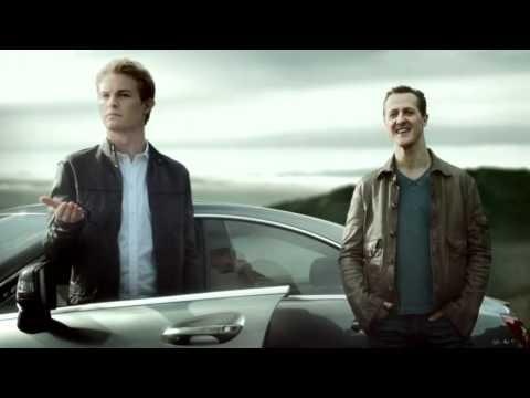 EN: Nico Rosberg and Michael Schumacher Formula One Mercedes-Benz Commercial Decision