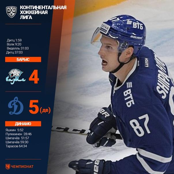 Поздравляем московское «Динамо» с первой победой в сезоне...