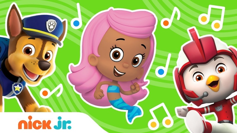 Theme Song Compilation w PAW Patrol, Shimmer Shine More! | Nick Jr. Music