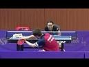 Dimitrij Ovtcharov Mima Ito Training at the Korea Open