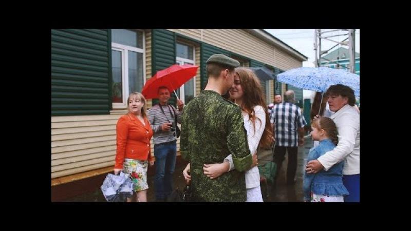 Девушка встречает парня из армии! Alexander Anna
