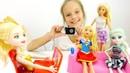 Кукла Барби и гимнастки идут на интервью - Видео для девочек