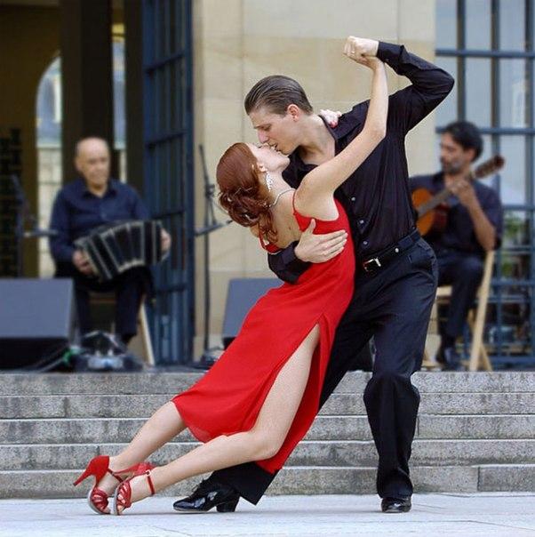 Красивое танго только в аргентине