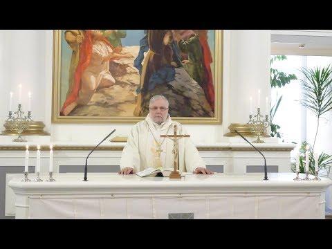 Пасхальное обращение епископа Церкви Ингрии Арри Кугаппи
